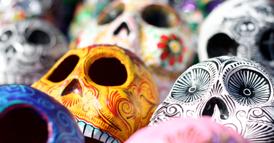 The Day of the Dead celebrations may coincide with Halloween and seem similar, but there are some big differences.