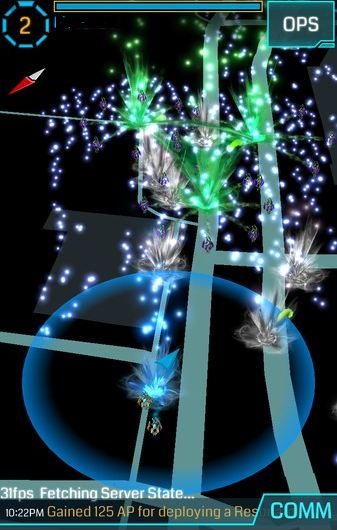 Ingress encourages players to get out and explore the physical world. It's not a game you can play from your couch, which can be great for people who love, or hate, to be active!