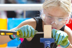 Maker Movement encourages kids to build, craft, and make.