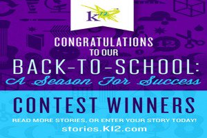 The What's your Story? Back to School: A Season for Success winners have been chosen, and three lucky students have received a Microsoft Surface Pro™.