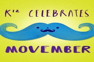 The goal of Movember (aka No-Shave November) is to GROW cancer awareness by embracing our hair, which many cancer patients lose during treatment.