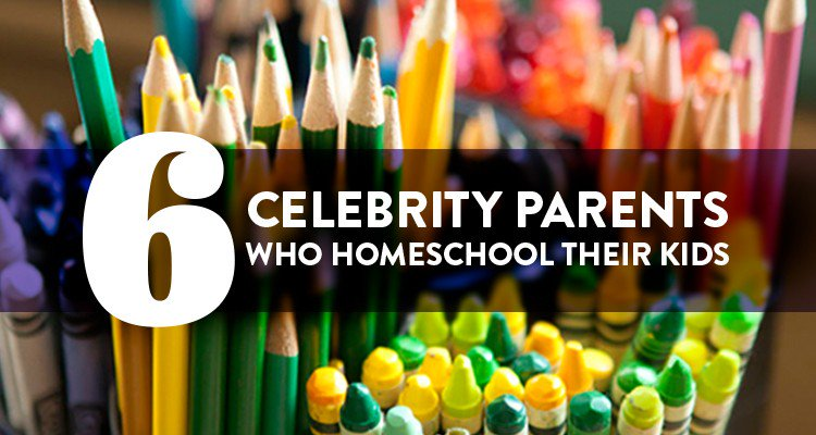 There are an estimated 2,040,000 homeschoolers in America, and some of the biggest names in entertainment are among them.
