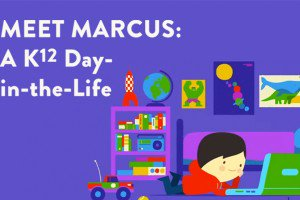What does a day in the life of a K12 student look like?