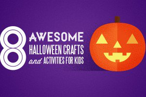 We've found some really fun and entertaining Halloween activities and crafts that parents can do with their kids.