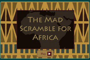 History Mad Scramble for Africa