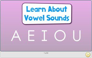 Preschool Vowels