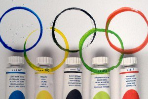 Winter Olympic themed crafts and activities for kids
