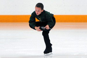 Darrel's dad always rewarded his academic progress with more time on the ice, so the sixth grader passed test after test and so he could follow his passion of figure skating.