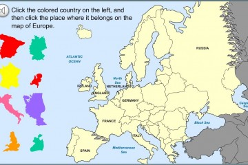 Kindergarten History Map of Europe