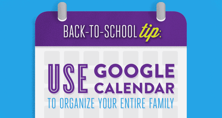 Google Calendar is a free web app that can make organizing your family's schedule simple. Google Calendar lets you easily keep track of your family's busy life, including your students' online school schedules, sports, and extracurricular classes, Mom and Dad's work schedules, family activities, and all your other obligations.