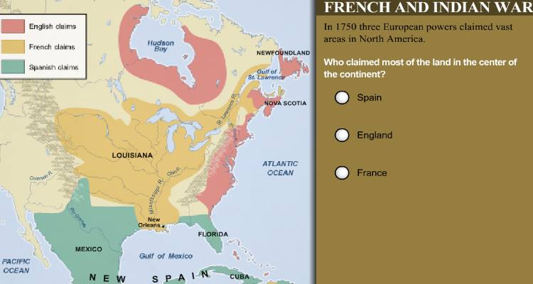 4th5th Grade History Learning Activity French and Indian War – French and Indian War Worksheet