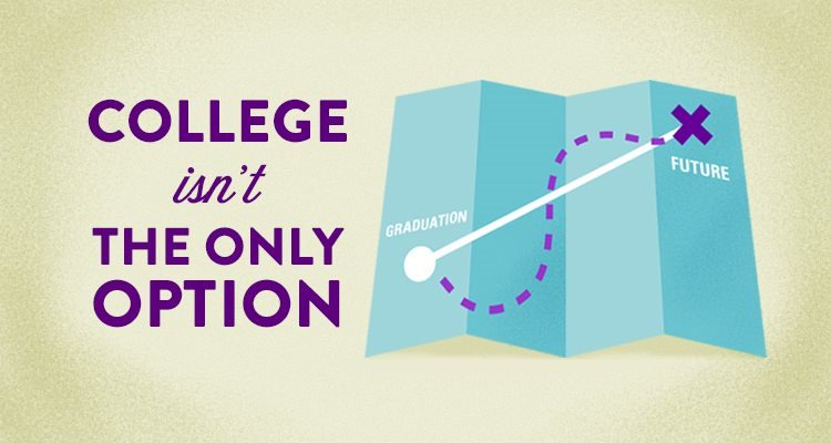 High school grads have options other than college. Find out what alternatives are available.