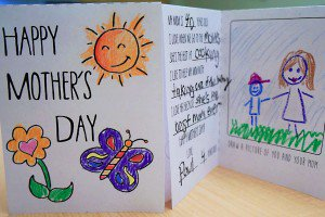 mother's day card banner