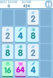 2048 Endless Combo is like the original 2048, but provides more levels for greater difficulty.