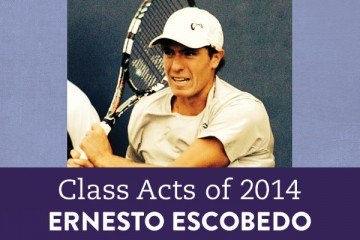 One 2014 graduate is leaving high school as a pro tennis player, thanks to the flexibility offered by his virtual school.