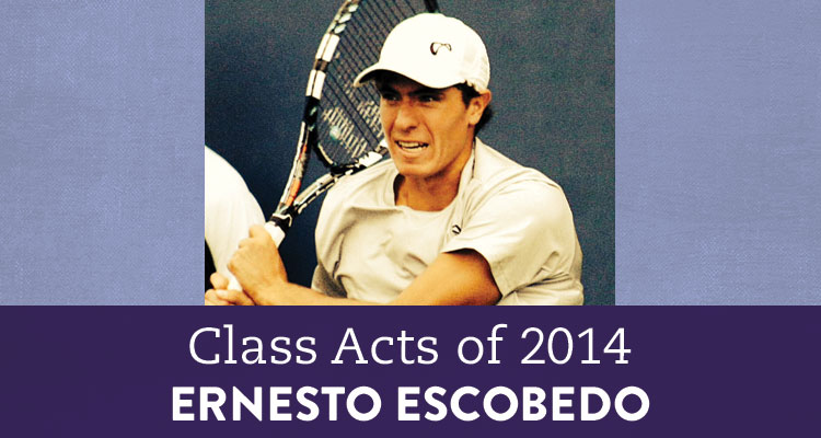 Class Acts of 2014: Graduate Turned Tennis Pro