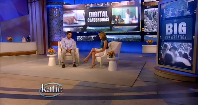 Katie Couric Talks About Khan Academy and the Digital Classroom