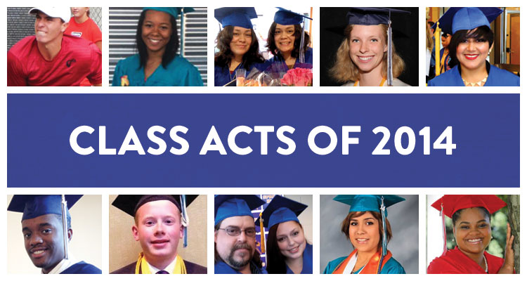 Class Acts of 2014: Profiles of Online Education Graduates