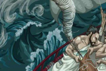 Odysseus and the bag of winds