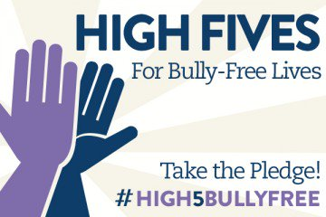 We're using the high five as a symbol of kindness and celebration, just as it was when it began on Oct. 2, 1977, in front of 46,000 screaming fans at Dodger Stadium.  Sign the pledge and commit to give High Fives for Bully-Free Lives!