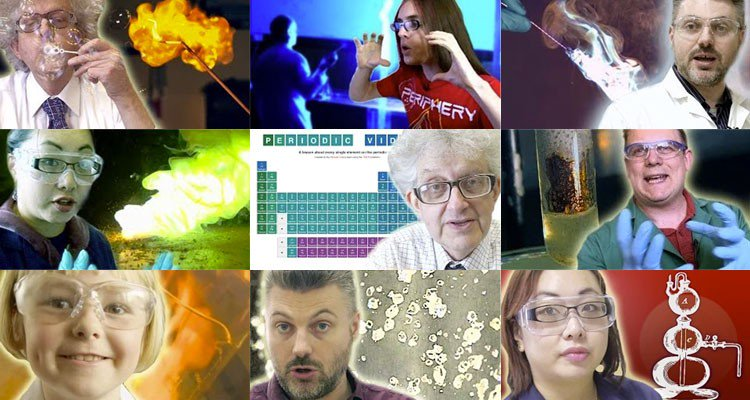 Ted ed watch professors blow things up in periodic table videos