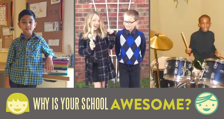 The Why My School is AWESOME Contest was a success! Help us in congratulating all of our winners!