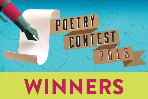 Announcing the winners of the 2015 Smiles and Laughter Poetry Contest!