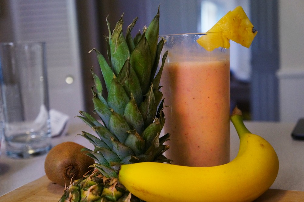 how to make a fruit smoothie without dairy
