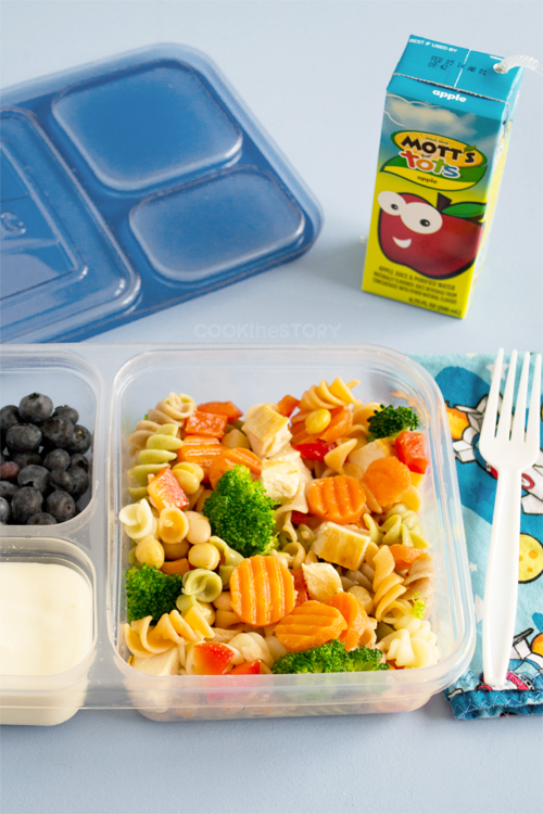 pasta salad packed lunch