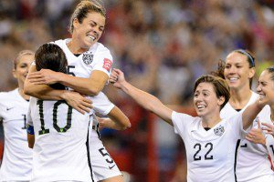 USA Woman's Soccer Team