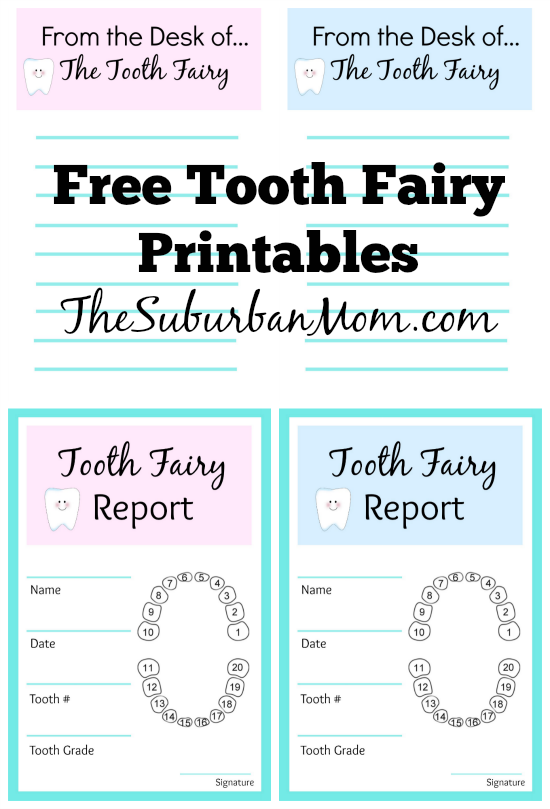 Free-Tooth-Fairy-Printables