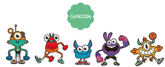 GoNoodle activities for afternoon slump