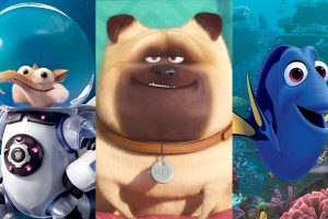 Images from three summer movies