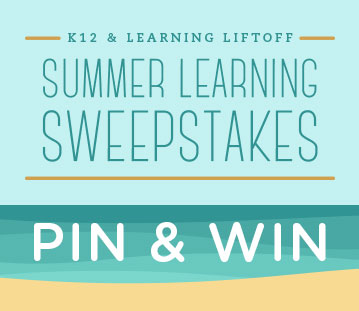 Pin Learning Liftoff articles to your Summer Learning Pinterest board and you could win a $200 Amazon gift card.
