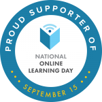 Online Learning Day Badge of Support
