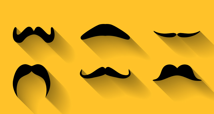 Mustache Printables for Movember - Learning Liftoff