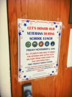 Schools Honor Veterans Day