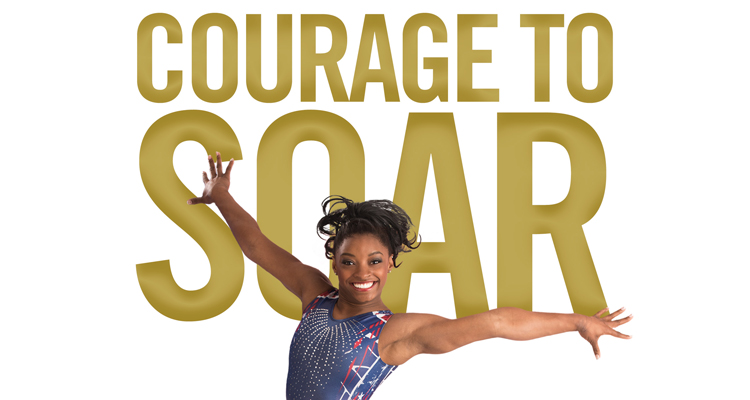 "Simone Biles ""Courage to Soar"""