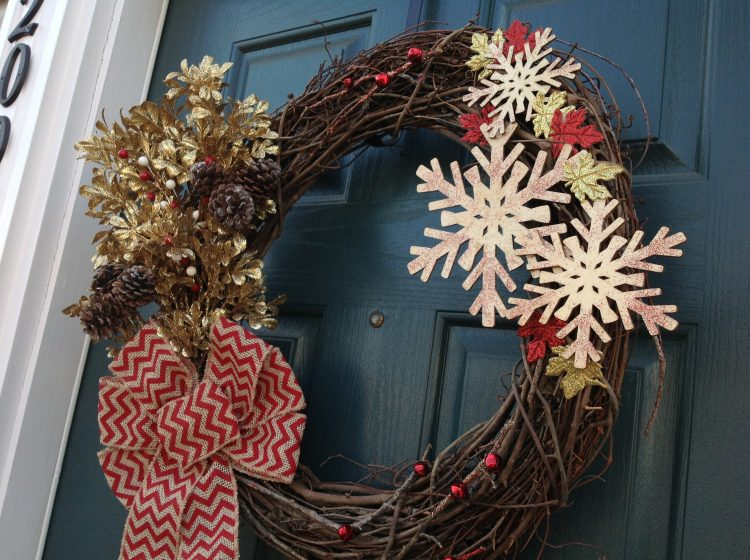 wreath close up
