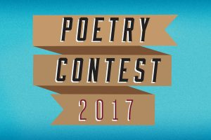 Let your hobby(ies) be your guide in our 2017 Poetry Contest in honor of National Poetry Month.