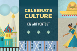 Kids' art is a fun way for students to explore their creative side. Share how you celebrate culture in K12's 12th annual Art Contest for a chance to win!