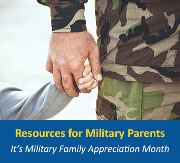 Read articles for military families