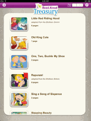 K12 Read Aloud Story Time iPad App Screenshot 01