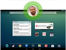 Google's new tablets running Android 4.2 allow for multiple users accounts, a first in the tablet space. Image courtesy of Google Play http://play.google.com.