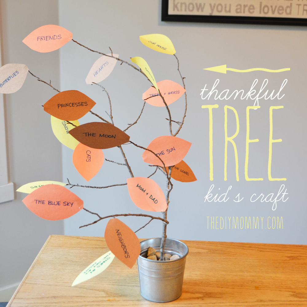 November Craft Ideas For Kids Part - 47: Via The DIY Mommy