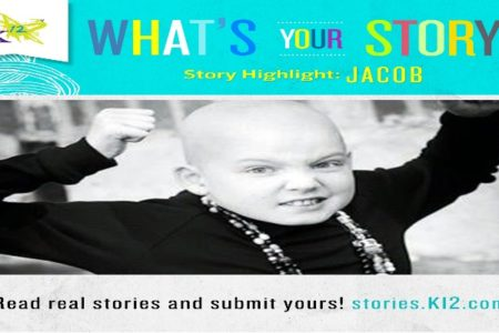 Jacob has Leukemia, and is able to achieve his student success with online education which allows him to work around his chemotherapy and hospital visits.