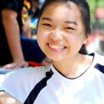 While challenging, K12 International Academy student Jasmine Chuah is happy she's doing it.