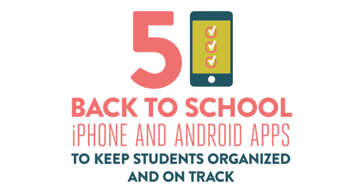 These 5 apps can help all students make sure they never miss a due date, and stay prepared and organized for study sessions, tests, and essay writing all year long.