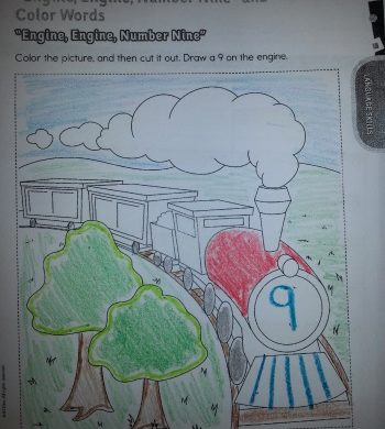 Little Kid Coloring Pages Cute Games Black Loom Girl Train ... | 390x350