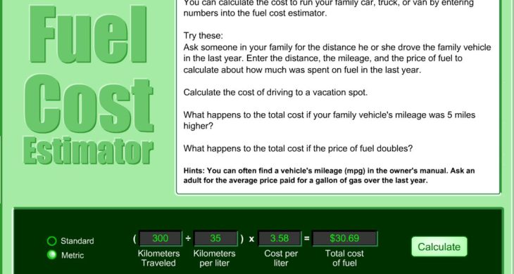 Fuel Cost Estimator